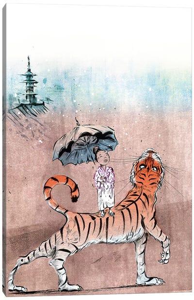Tiger Lilly Canvas Art Print