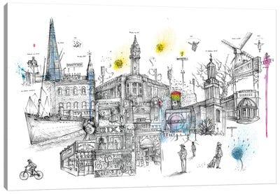 Brixton Vibes Canvas Art Print