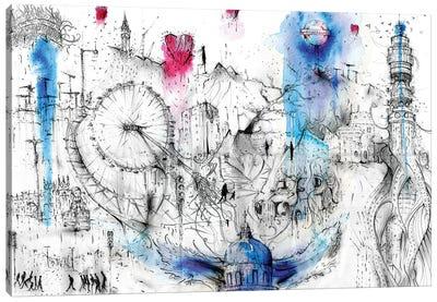 Fantasy London Canvas Art Print
