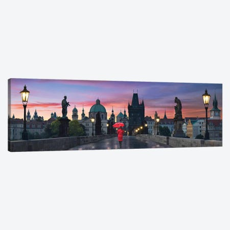 Dawn at Charles Bridge Canvas Print #LEE12} by Lee Sie Canvas Wall Art