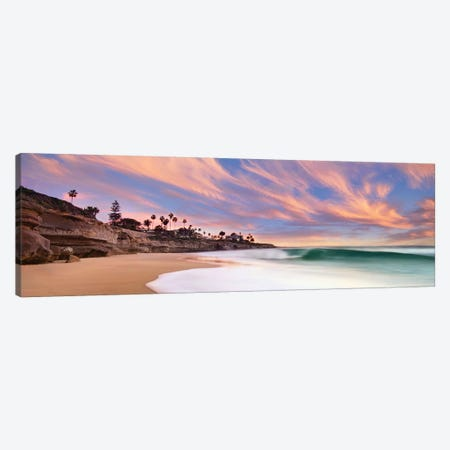 The Beach Break 3-Piece Canvas #LEE15} by Lee Sie Art Print