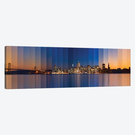 Chromatic Symphony Of San Francisco Canvas Print #LEE3} by Lee Sie Canvas Art Print