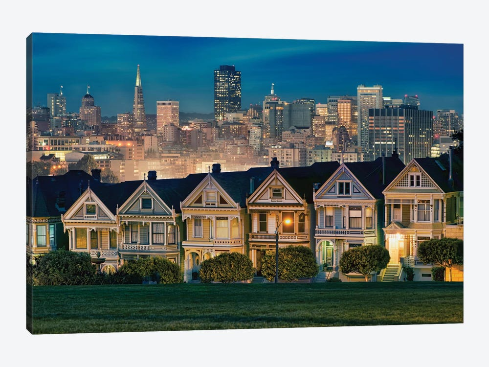 Painted Ladies by Lee Sie 1-piece Canvas Print