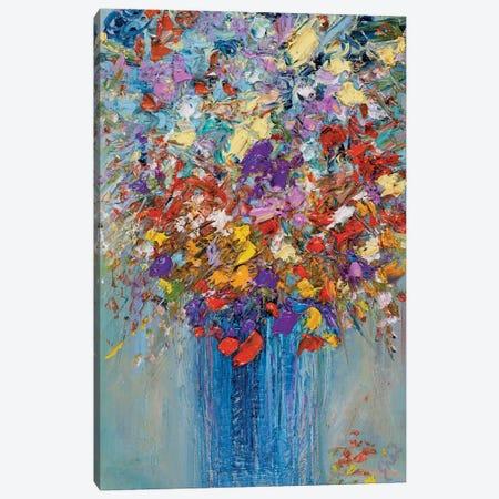 Falling Hearts Canvas Print #LEG14} by Shalimar Legaspi Canvas Art Print