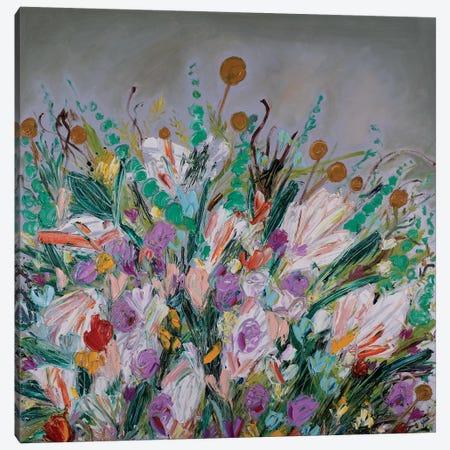 Farm Wildflowers Canvas Print #LEG16} by Shalimar Legaspi Canvas Art Print