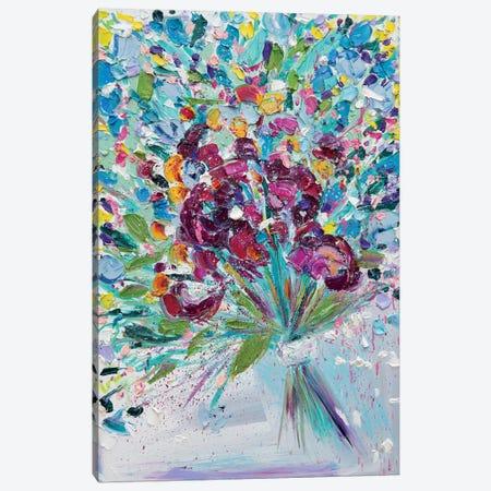Floral Fireworks I 3-Piece Canvas #LEG17} by Shalimar Legaspi Art Print
