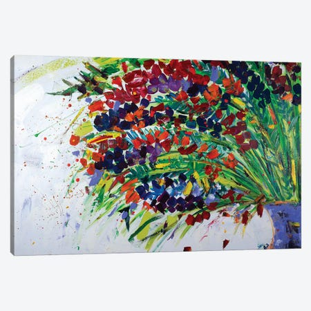 Floral Life Of Ghent Canvas Print #LEG19} by Shalimar Legaspi Canvas Art