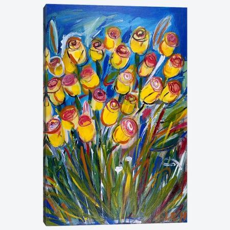 Friendship Roses Canvas Print #LEG23} by Shalimar Legaspi Canvas Art Print