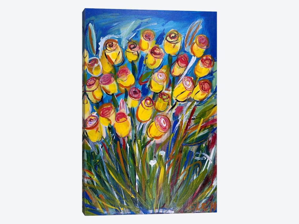 Friendship Roses by Shalimar Legaspi 1-piece Canvas Artwork