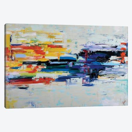 LA Rush Hour 3-Piece Canvas #LEG26} by Shalimar Legaspi Canvas Art