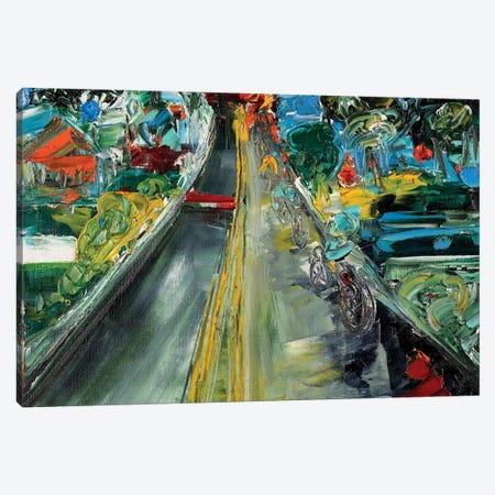 April Fleche 3-Piece Canvas #LEG2} by Shalimar Legaspi Canvas Print