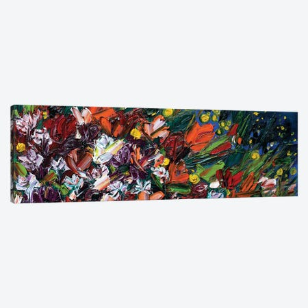 On The Road Again Wildflowers 3-Piece Canvas #LEG33} by Shalimar Legaspi Canvas Artwork
