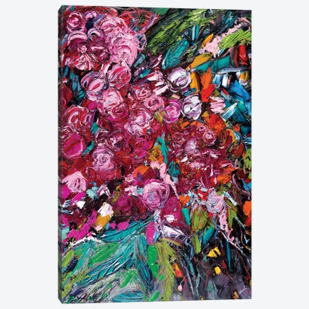 Pile Of Peonies Canvas Print #LEG35} by Shalimar Legaspi Canvas Art Print