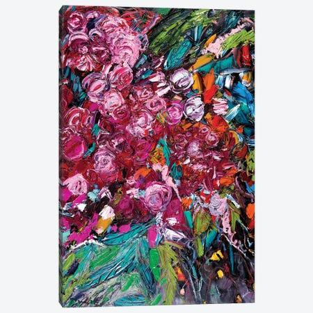 Pile Of Peonies Canvas Print #LEG35} by Shalimar Legaspi Canvas Art Print