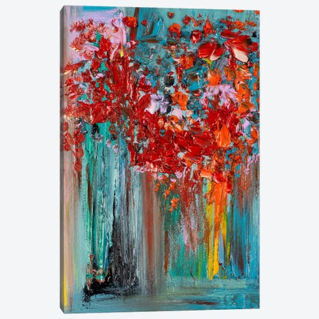 Raining Petals 3-Piece Canvas #LEG37} by Shalimar Legaspi Canvas Art Print