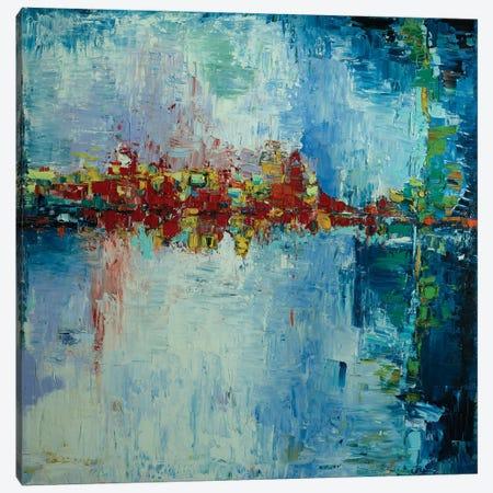 Raleigh Through A Rainy Windshield Canvas Print #LEG40} by Shalimar Legaspi Canvas Art Print
