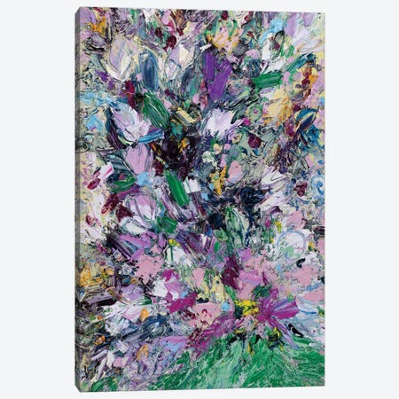 Welcome Home Bouquet Canvas Print #LEG53} by Shalimar Legaspi Canvas Wall Art