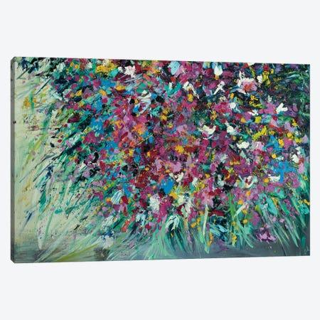Wild Hearts Wildflowers 3-Piece Canvas #LEG55} by Shalimar Legaspi Canvas Art Print