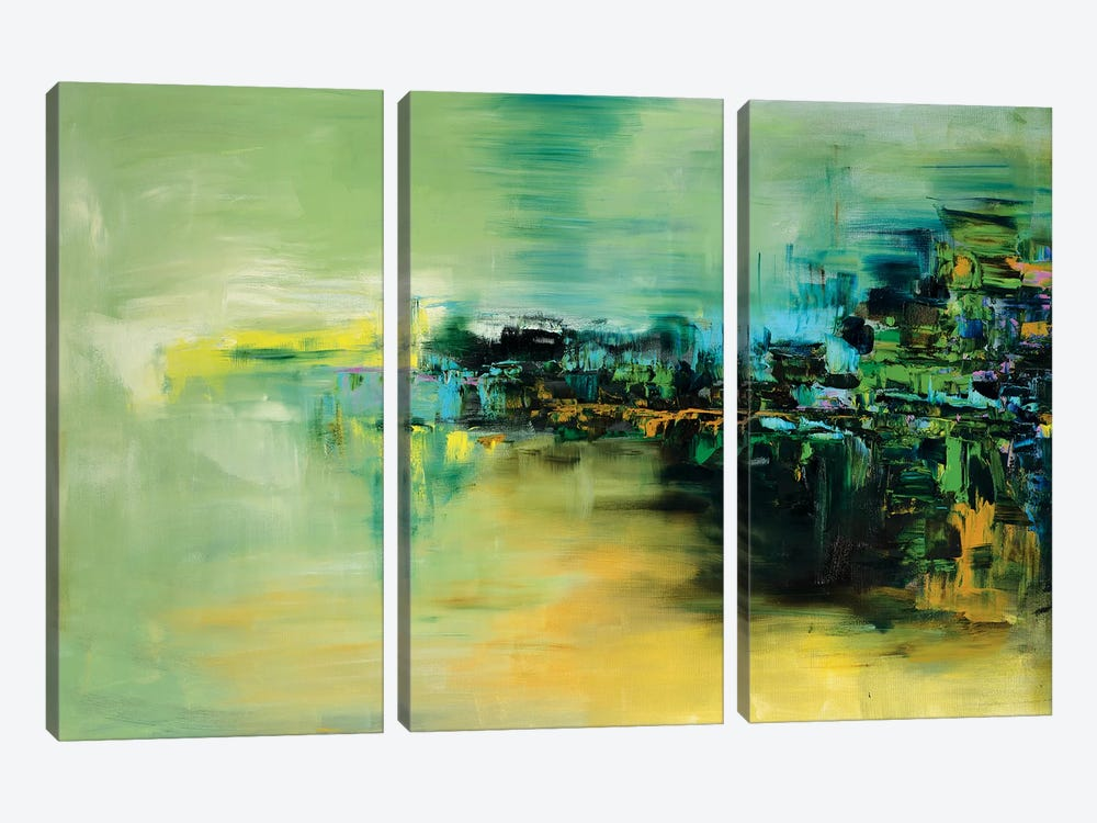 Reflections by Shalimar Legaspi 3-piece Canvas Wall Art