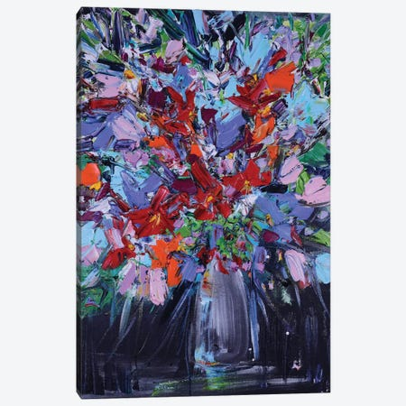 Kimberly's Flowers Canvas Print #LEG65} by Shalimar Legaspi Canvas Art