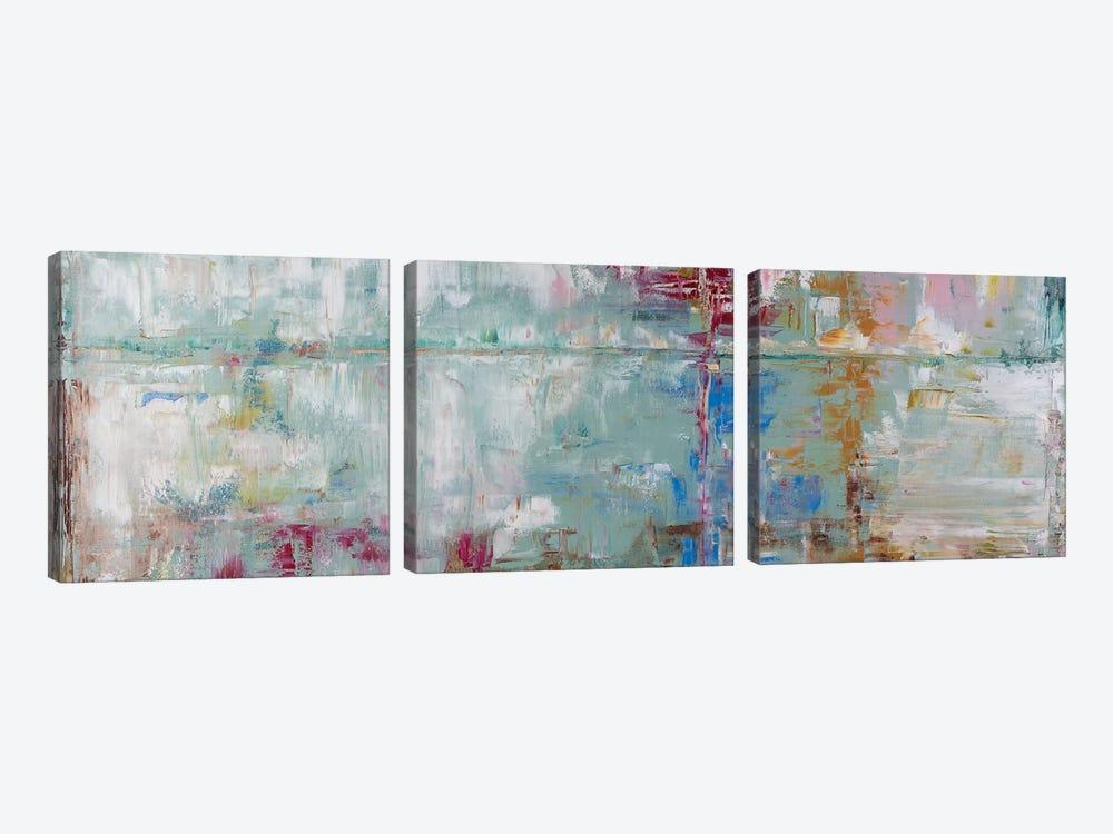 Daydream In Sage by Shalimar Legaspi 3-piece Canvas Artwork