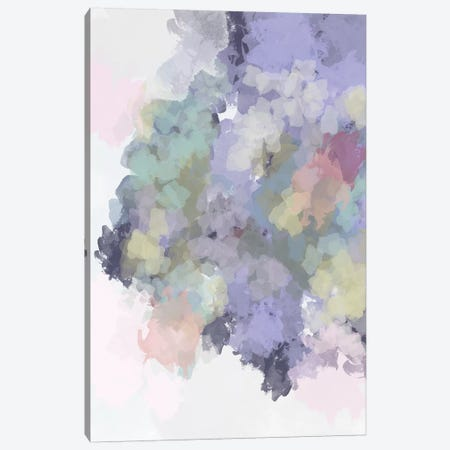 Lavender Watercolor Canvas Print #LEH103} by Leah Straatsma Canvas Wall Art