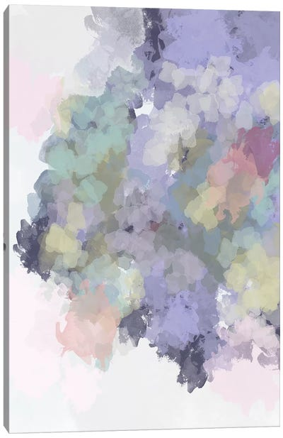 Lavender Watercolor Canvas Art Print