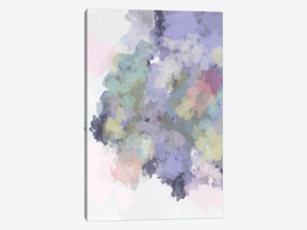 Lavender Watercolor by Leah Straatsma 1-piece Canvas Print