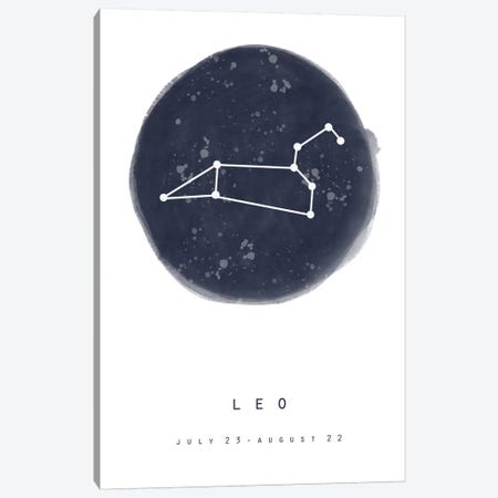 Leo Canvas Print #LEH104} by Leah Straatsma Art Print