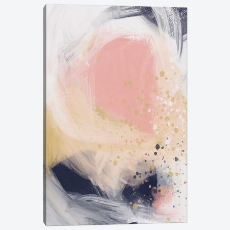 Peachy Blast Canvas Print #LEH123} by Leah Straatsma Canvas Wall Art