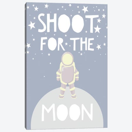 Shoot For The Stars Canvas Print #LEH140} by Leah Straatsma Canvas Art