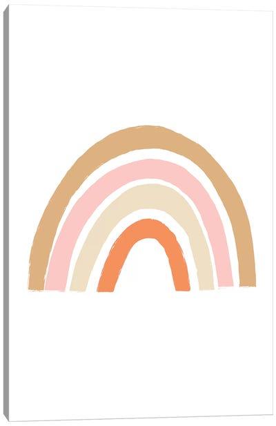 Sunset Rainbow Canvas Art Print