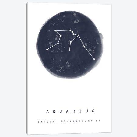 Aquarius Canvas Print #LEH15} by Leah Straatsma Canvas Artwork