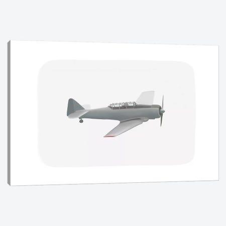 Vintage Plane III Canvas Print #LEH163} by Leah Straatsma Canvas Artwork
