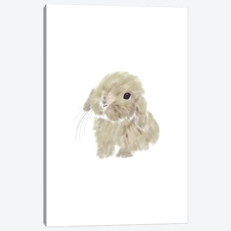Baby Bunny Canvas Print #LEH19} by Leah Straatsma Canvas Print