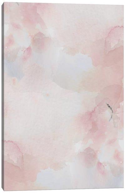 Blush Pink Print Canvas Art Print
