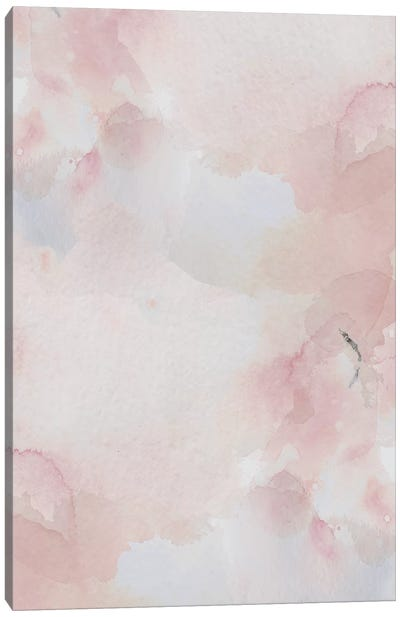 Blush Pink Print Canvas Art Print
