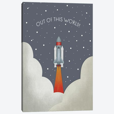Out Of This World Canvas Print #LEH248} by Leah Straatsma Canvas Art Print