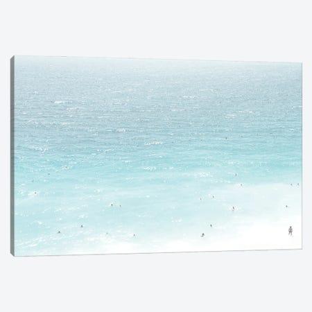 Ocean Life I Canvas Print #LEH266} by Leah Straatsma Canvas Art
