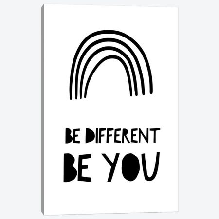 Be Different Canvas Print #LEH27} by Leah Straatsma Canvas Art Print