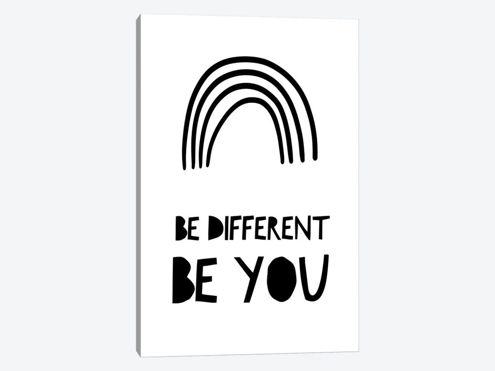 Be Different by Leah Straatsma 1-piece Canvas Wall Art