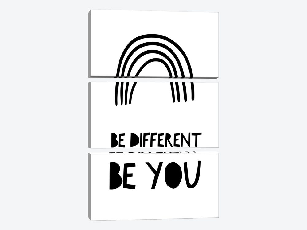 Be Different by Leah Straatsma 3-piece Canvas Wall Art
