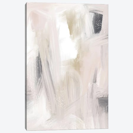 Blush And Gold And Blue Grey Canvas Print #LEH32} by Leah Straatsma Canvas Art Print