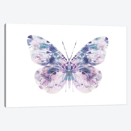 Butterfly I Canvas Print #LEH40} by Leah Straatsma Canvas Wall Art