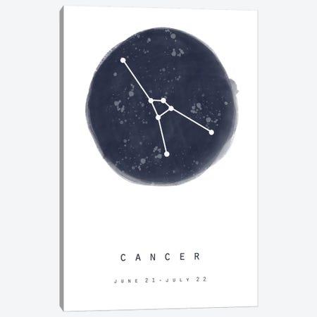 Cancer Canvas Print #LEH45} by Leah Straatsma Art Print