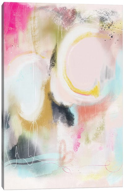 Abstract I Canvas Art Print