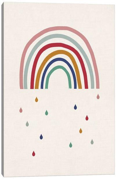 Crying Rainbow Canvas Art Print