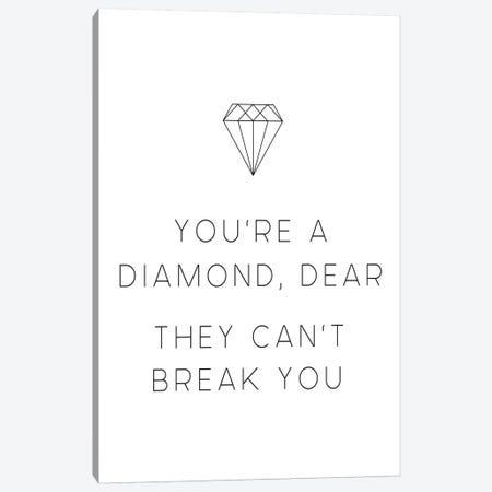 Diamond Dear Canvas Print #LEH60} by Leah Straatsma Canvas Artwork