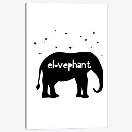Elovephant Canvas Print #LEH67} by Leah Straatsma Art Print