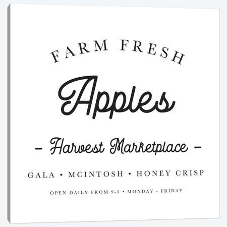 Farm Fresh Apples Canvas Print #LEH71} by Leah Straatsma Canvas Print